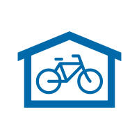 Bike and Ride icon