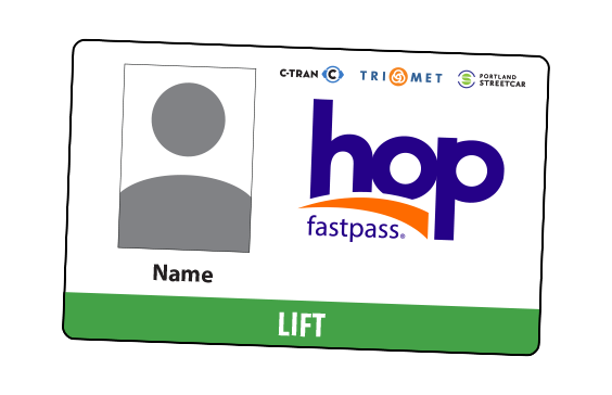 LIFT Hop card