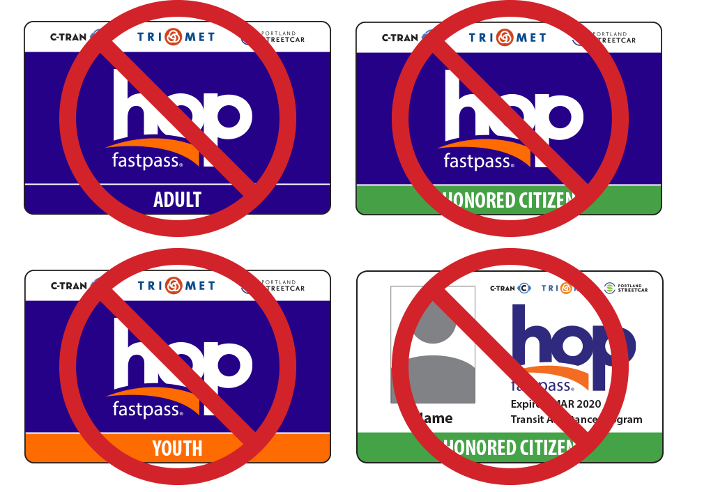 cards not valid Hop card on LIFT