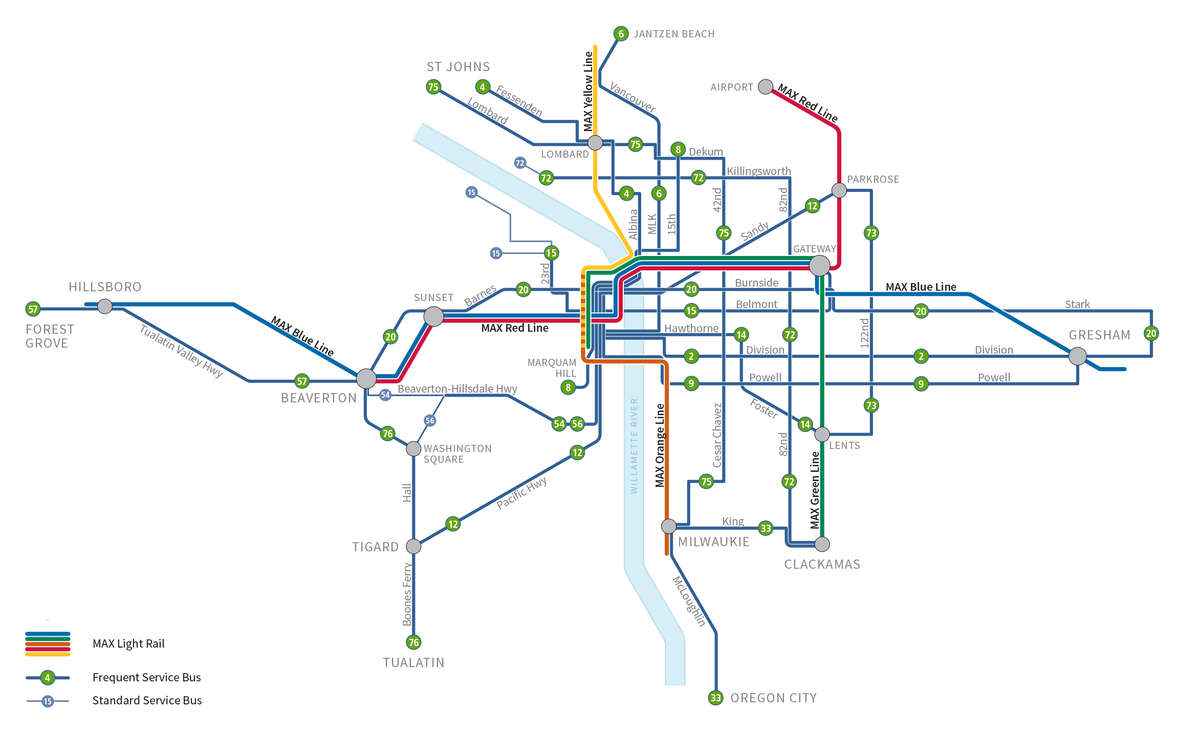 Frequent Service map