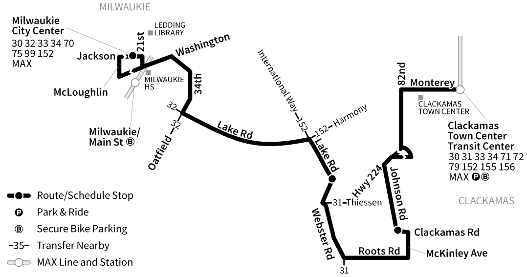 Bus Line 29 route map