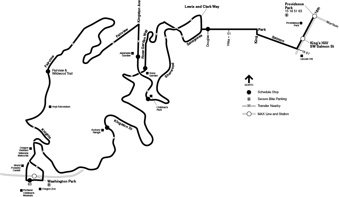 Bus Line 83 route map