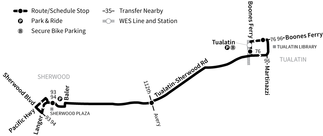 Bus Line 97 route map