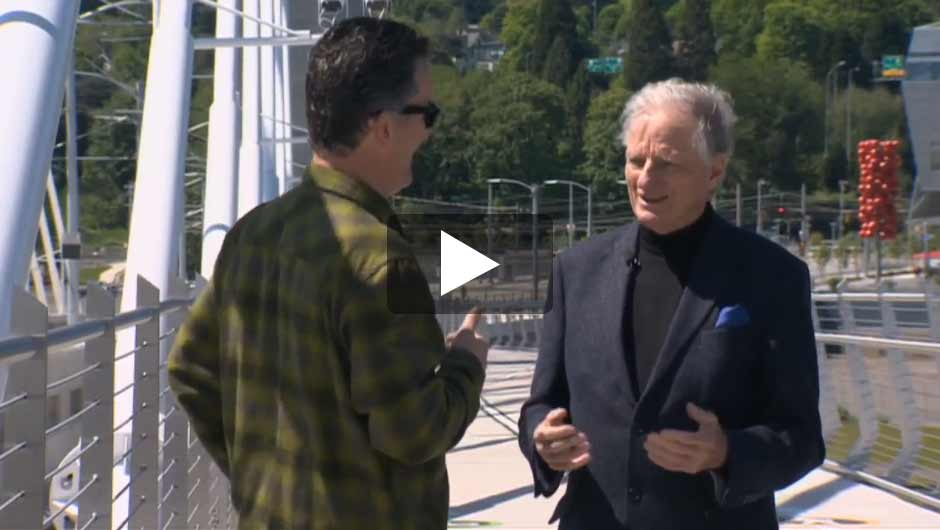 KGW-TV interview with bridge designer Donald McDonald