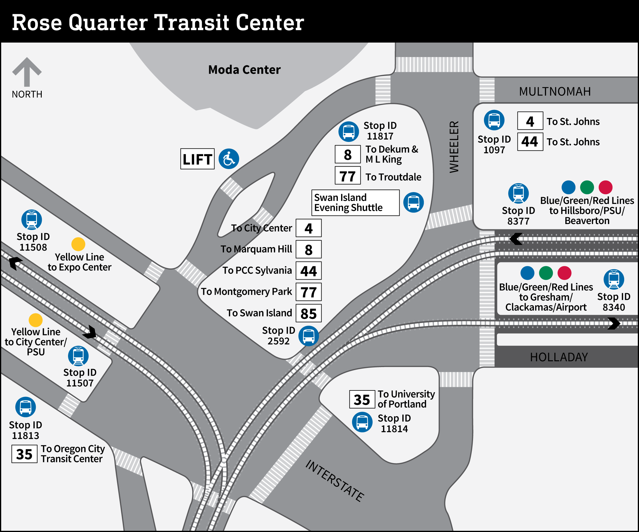 Rose Quarter Transit Center