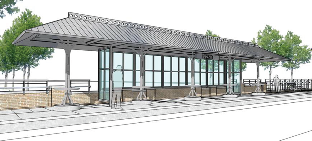 122nd Ave shelter rendering