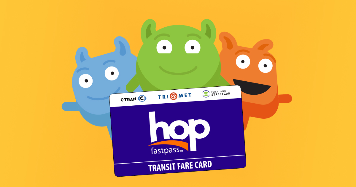 Paying With Your Phone: Hop Fastpass Transit Fare Card for