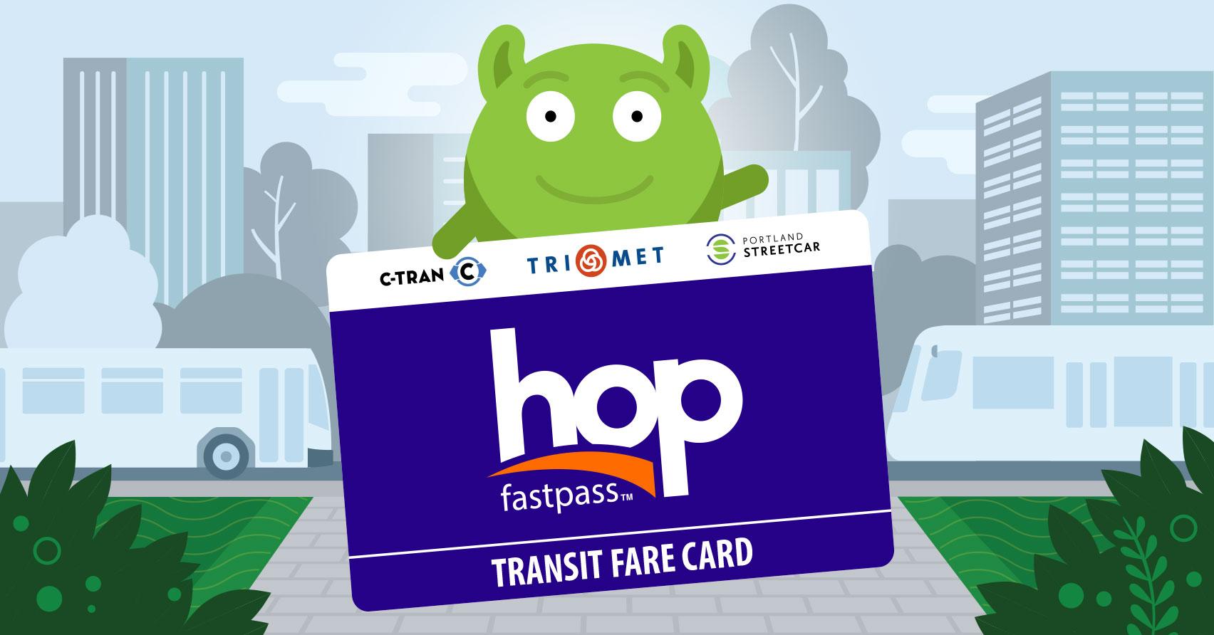 Portland Bus Fare App