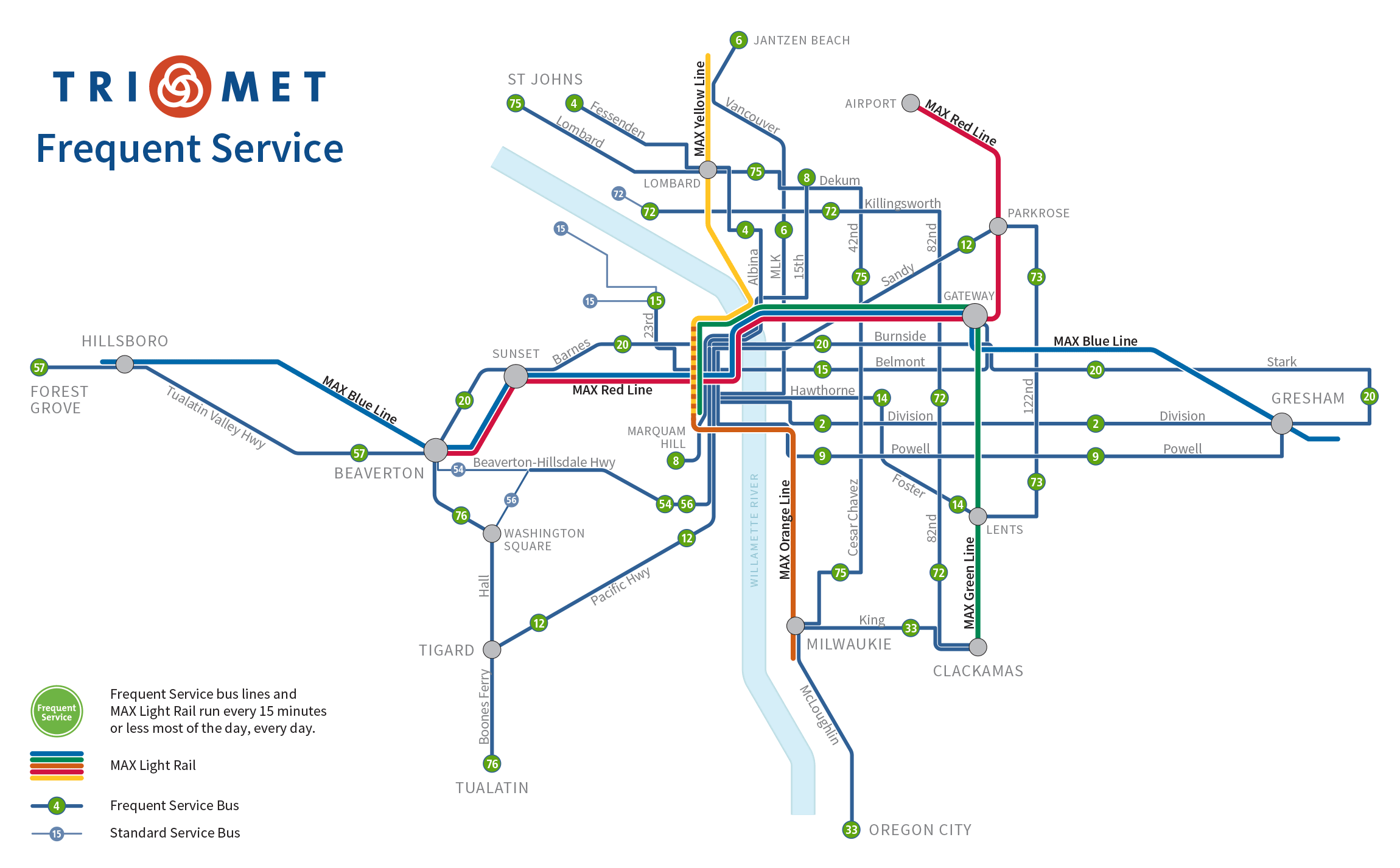 Trimet Light Rail Map Related Keywords Amp Suggestions