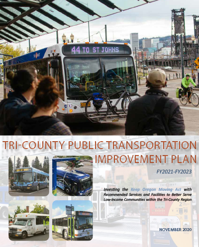 Publit Transportation Improvement Plan cover