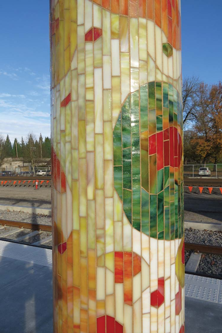 Journey Through Time Shelter Column