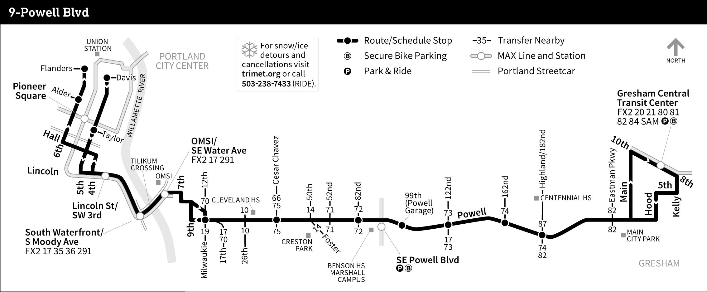 9-Powell Blvd on