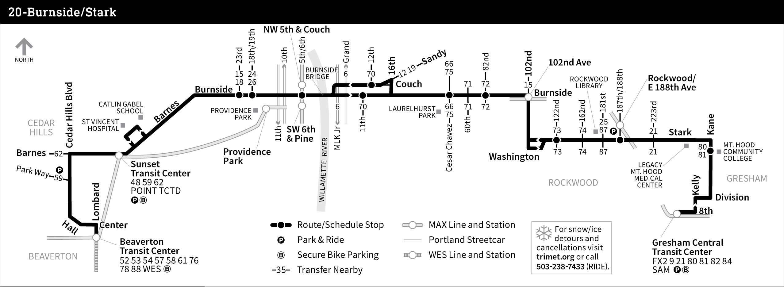 BurnsideStark - Map us route 20