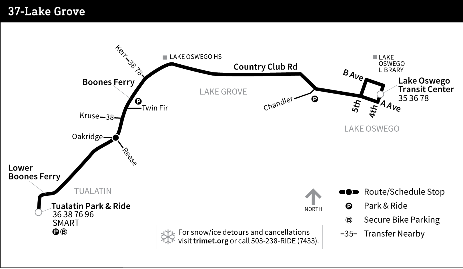 Bus Service During Snowy/Icy Weather