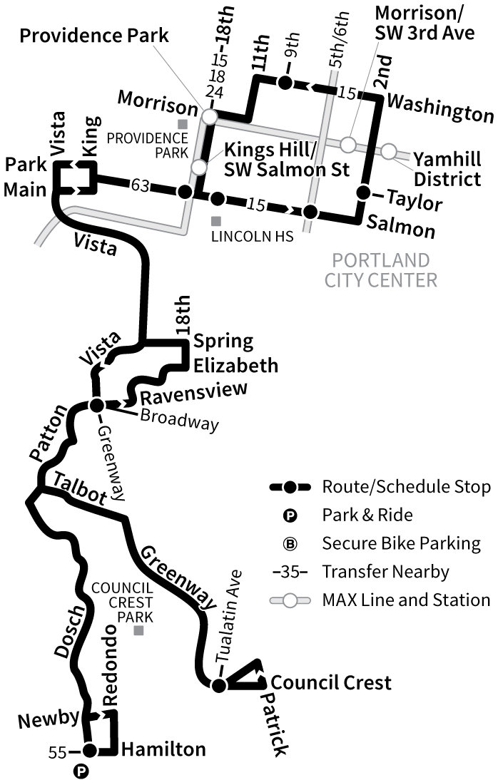 Bus Line 51 route map