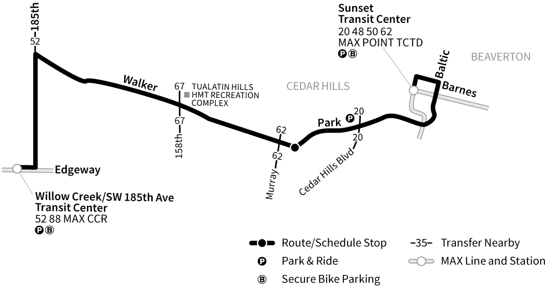 Bus Line 59 route map
