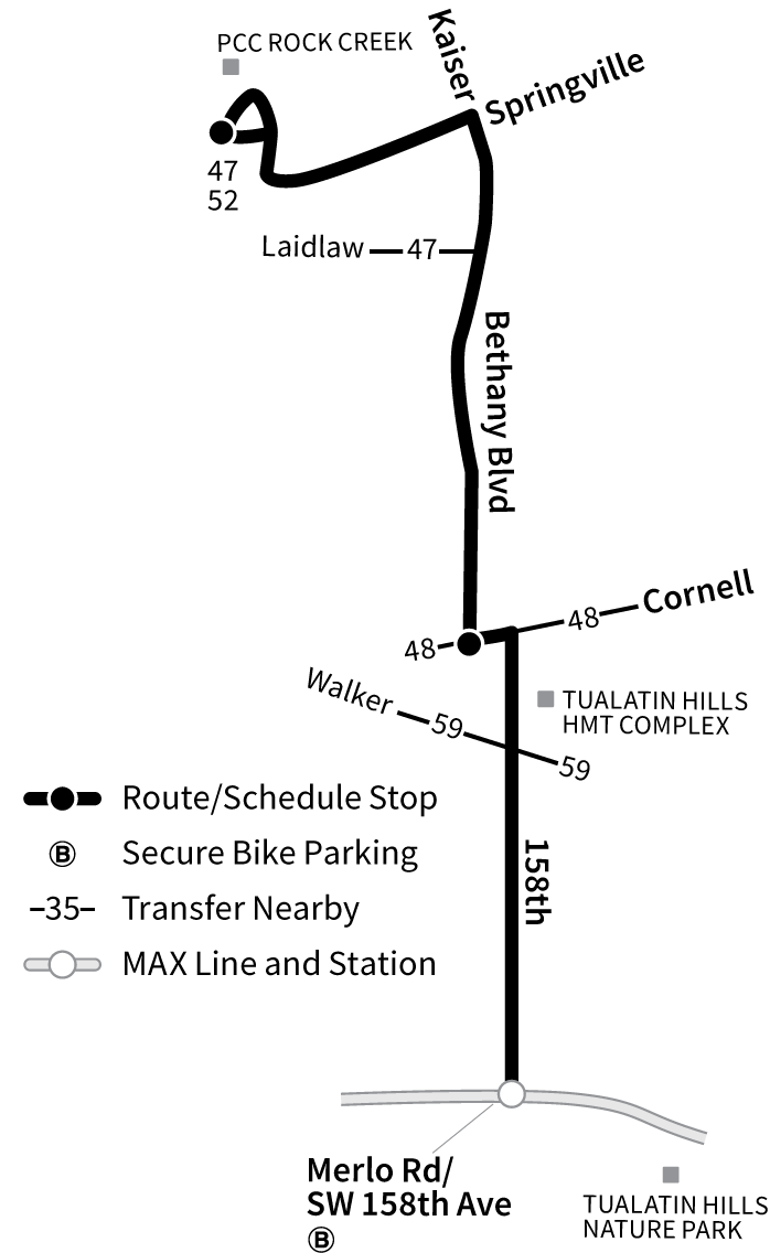 Bus Line 67 route map