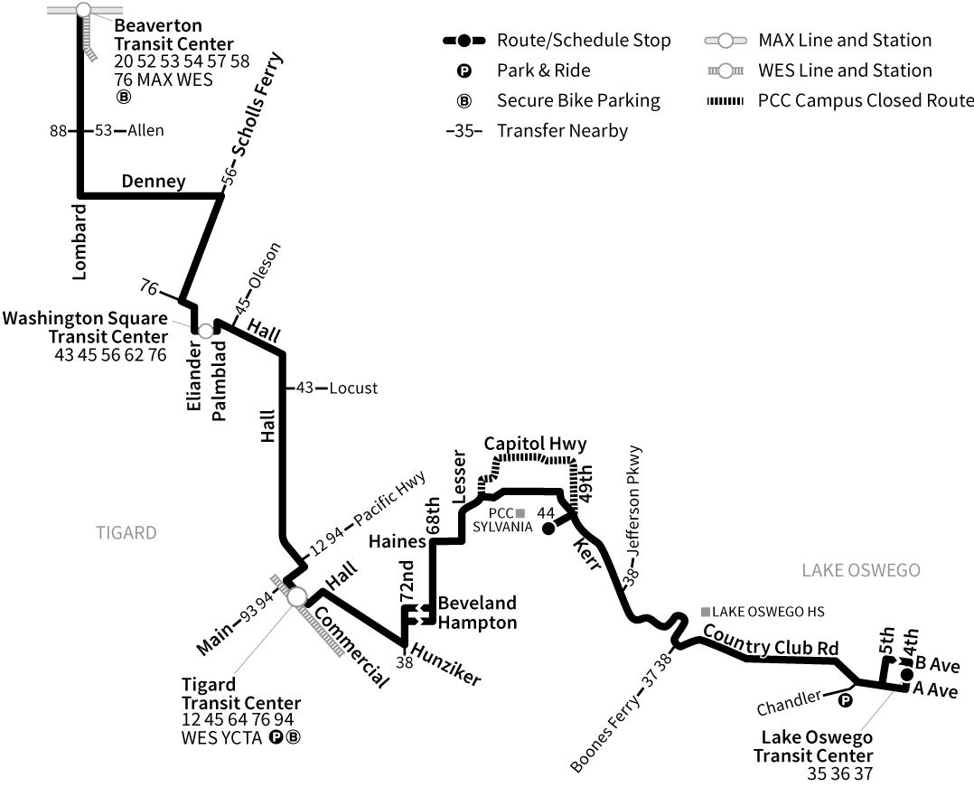 Bus Line 78 route map