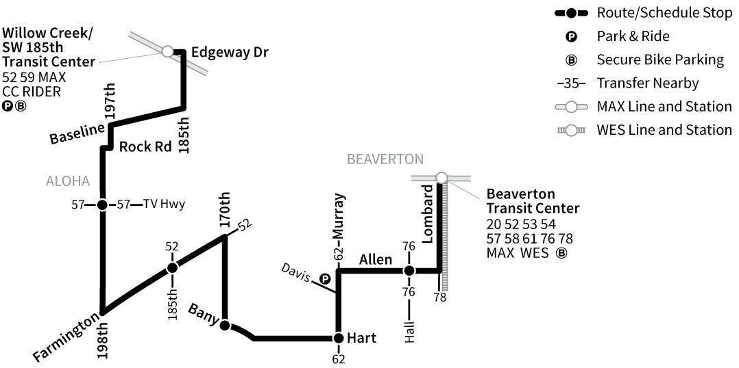 Bus Line 88 route map