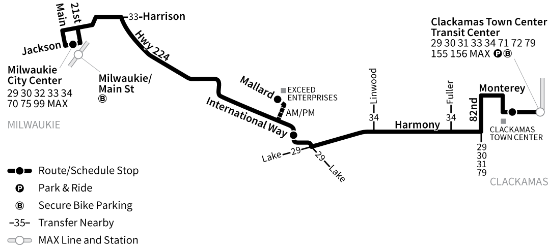 Bus Line 152 route map