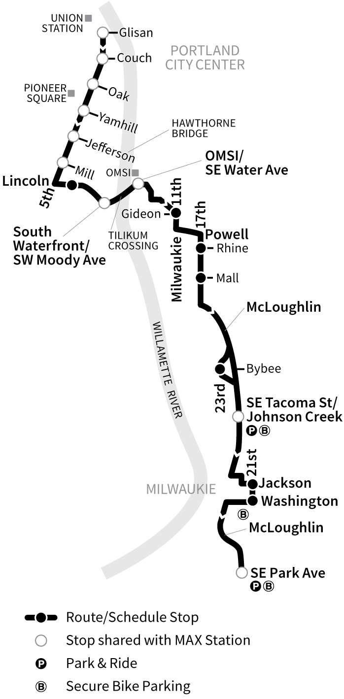 Bus Line 291 route map