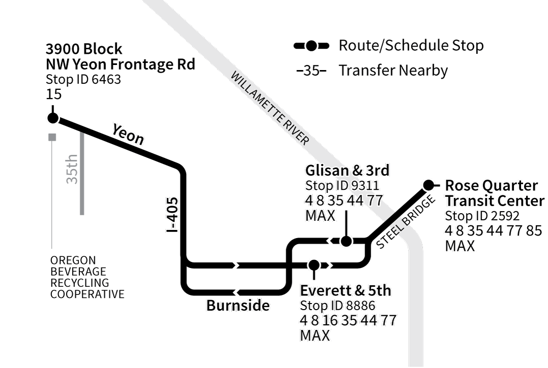 Bus Line 297 route map