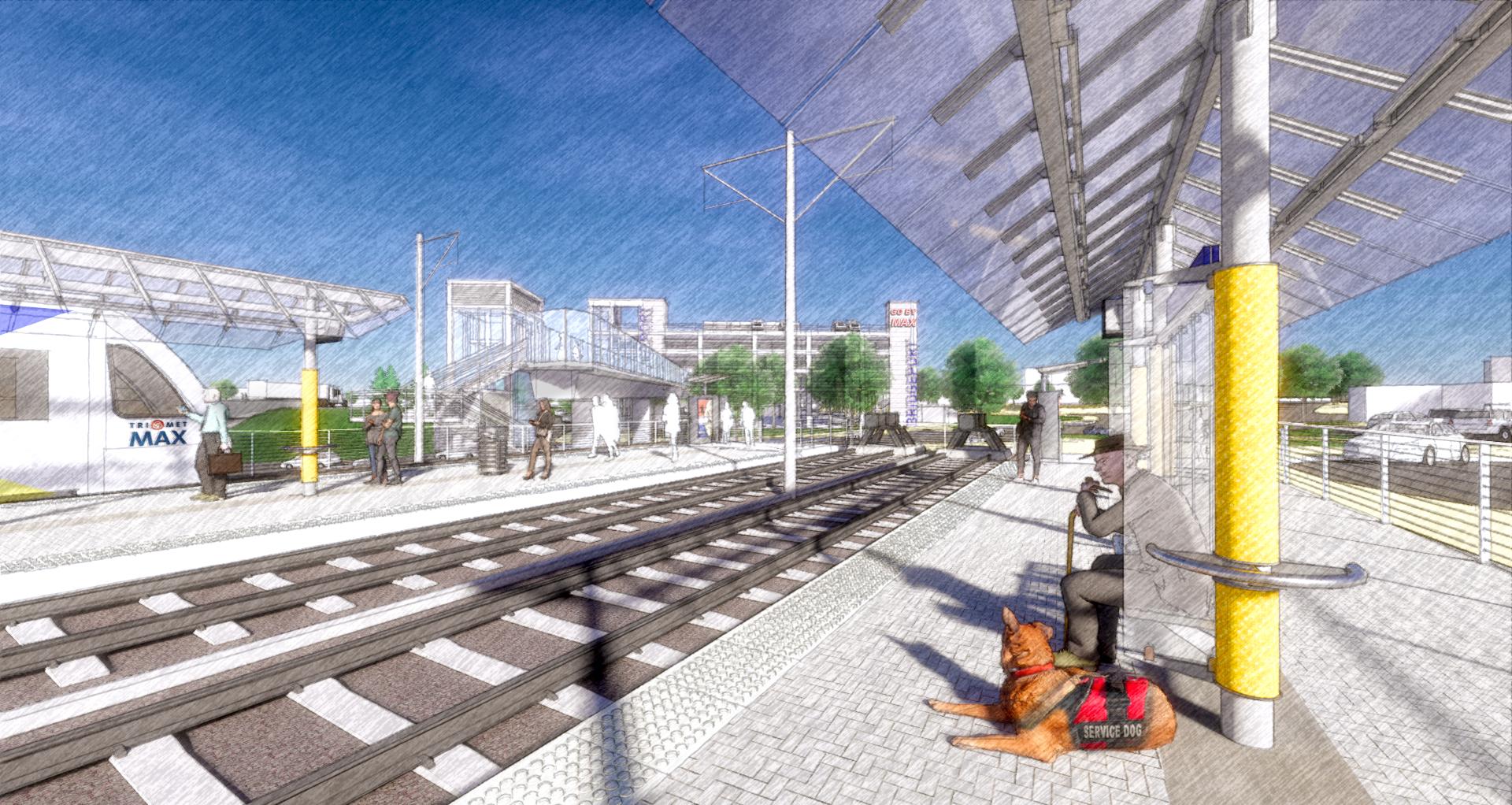 Bridgeport Transit Center - Southwest Corridor Light Rail ...