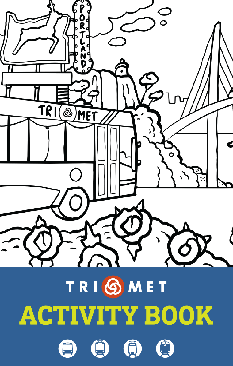 TriMet Activity Book PDF